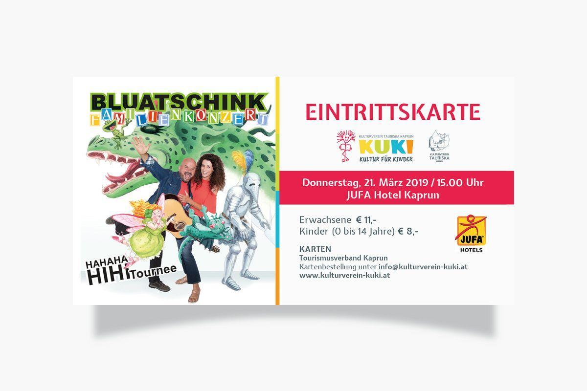 KUKI - Kultur für Kinder Eintrittskarte