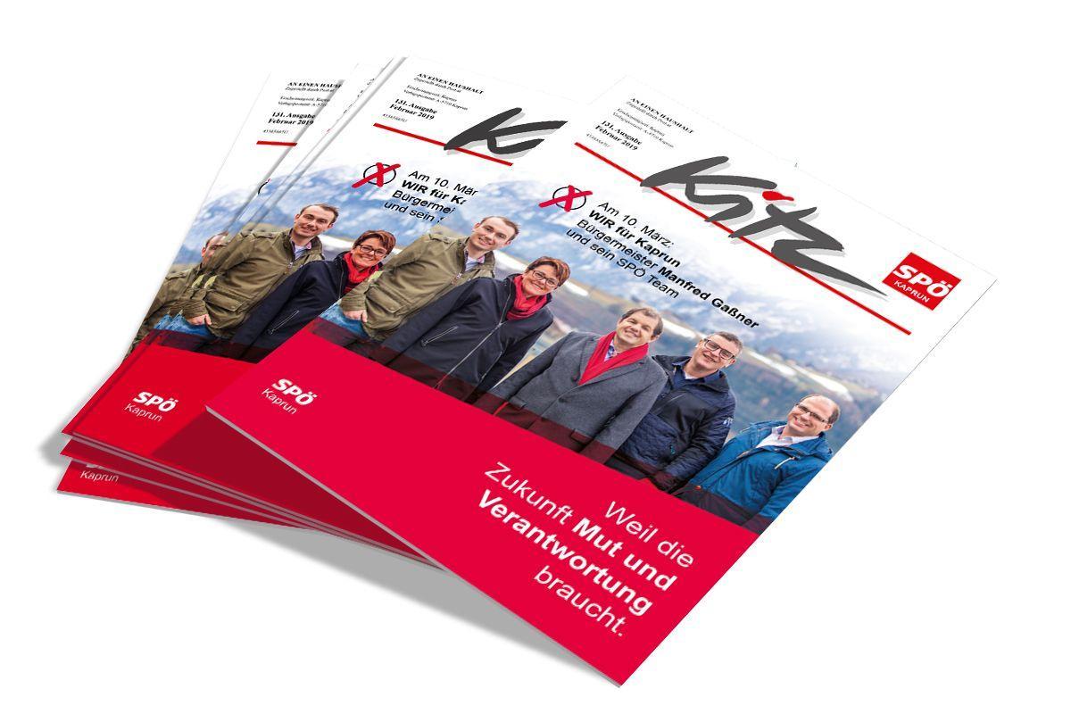 SPÖ Kaprun - Wahlzeitung