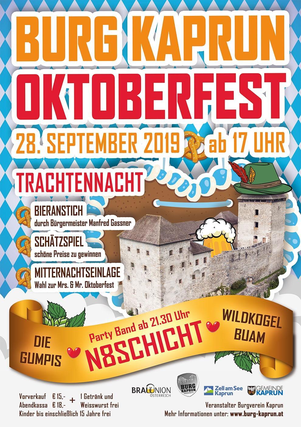 Burg Kaprun - Oktoberfest