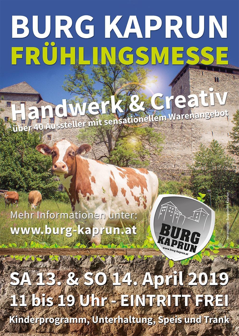 Burg Kaprun - Frühlingsmesse