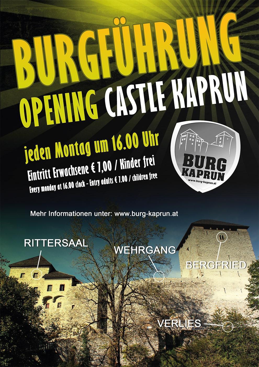 Burg Kaprun - Burgführung