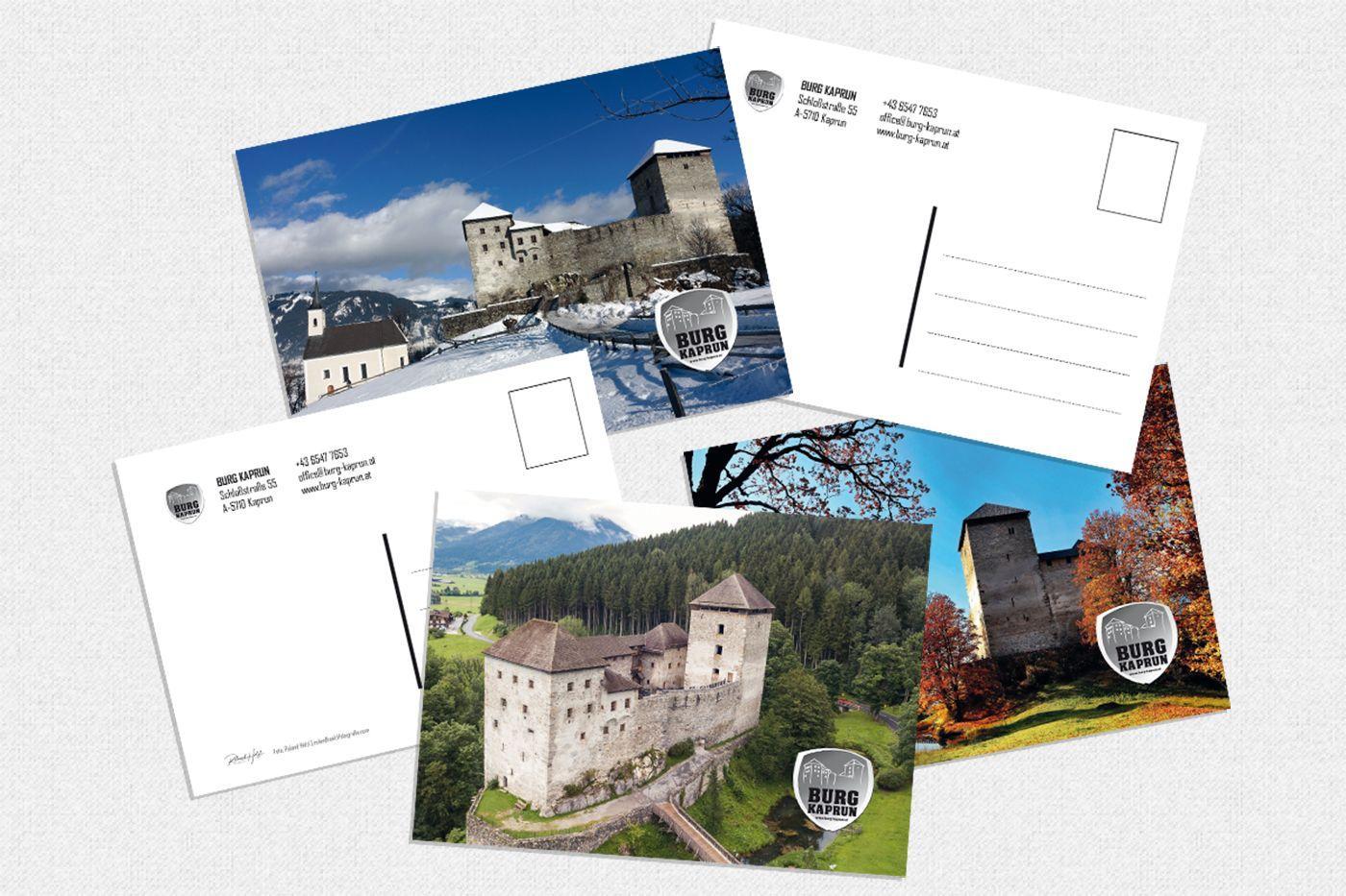 Burg Kaprun - Postkarten