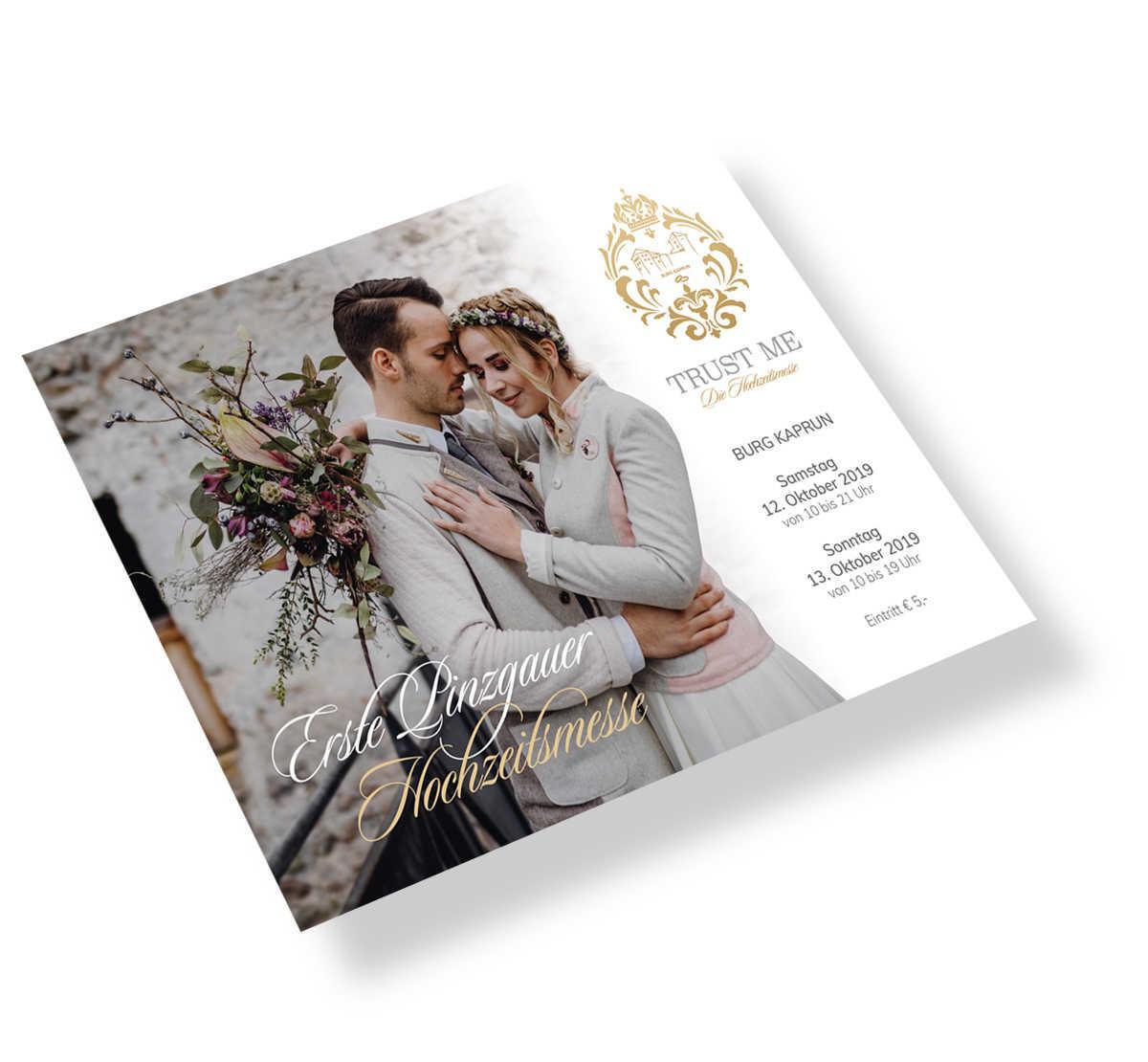 Burg Kaprun - Hochzeitsmesse - Flyer