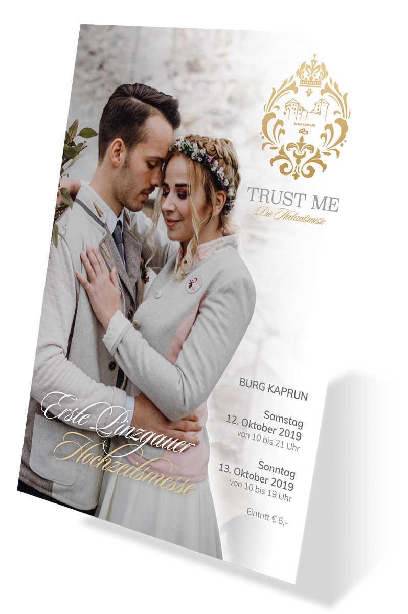 Burg Kaprun - Hochzeitsmesse - Plakat