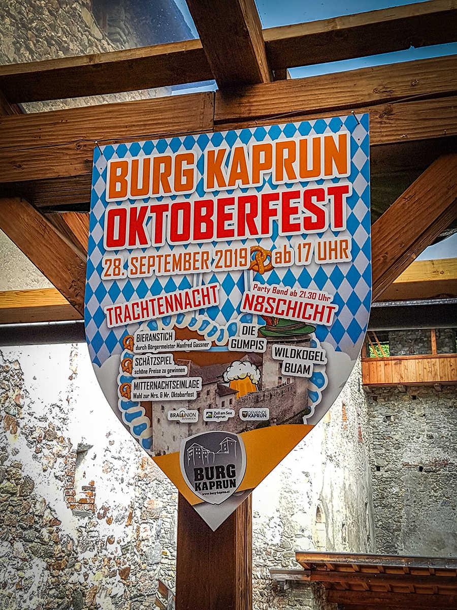 Burg Kaprun - Eventwappen