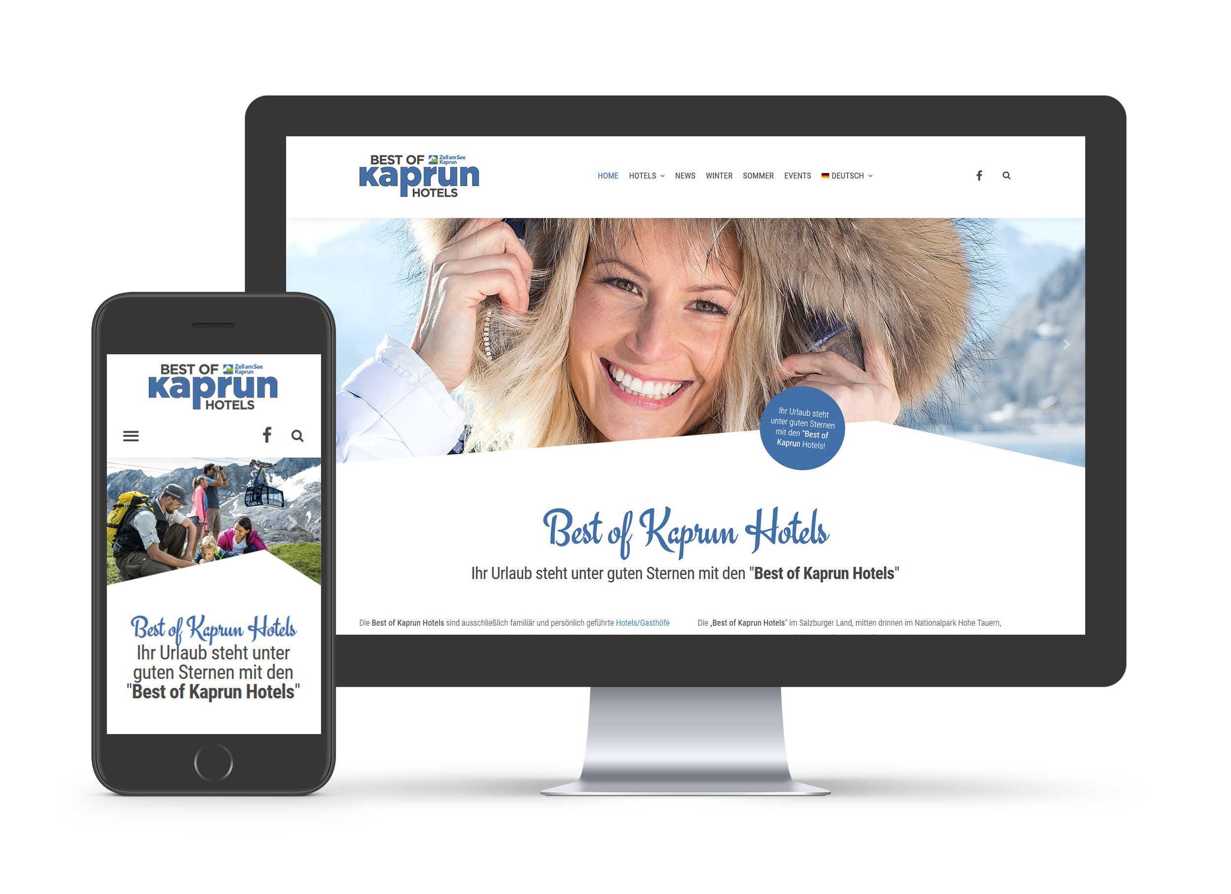 Best of Kaprun Hotels - Website