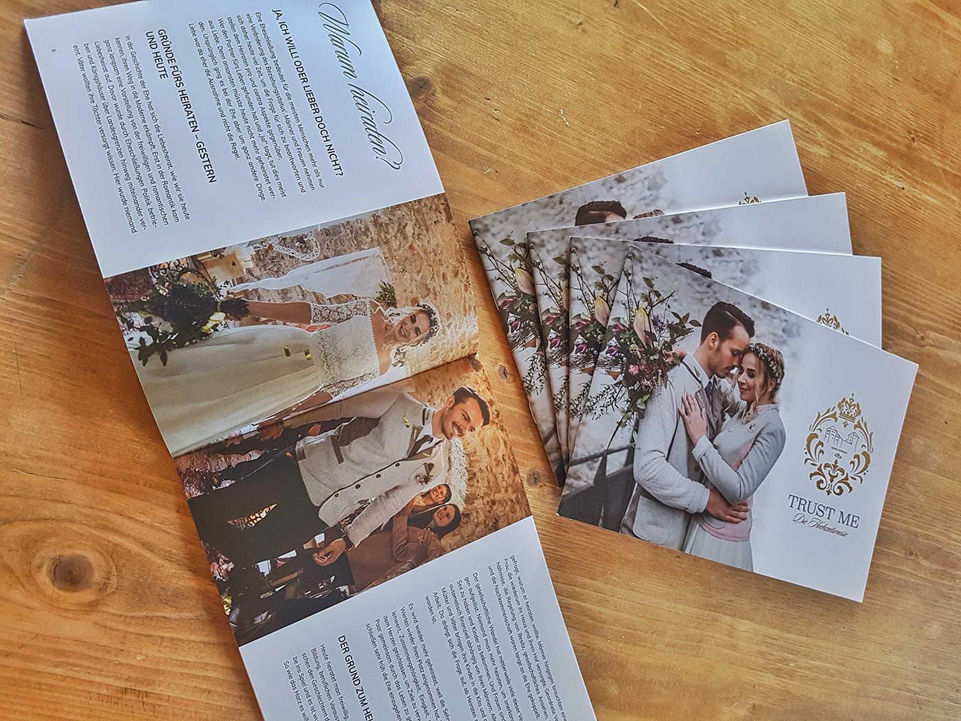 TRUST ME - Die Hochzeitsmssse - Magazin