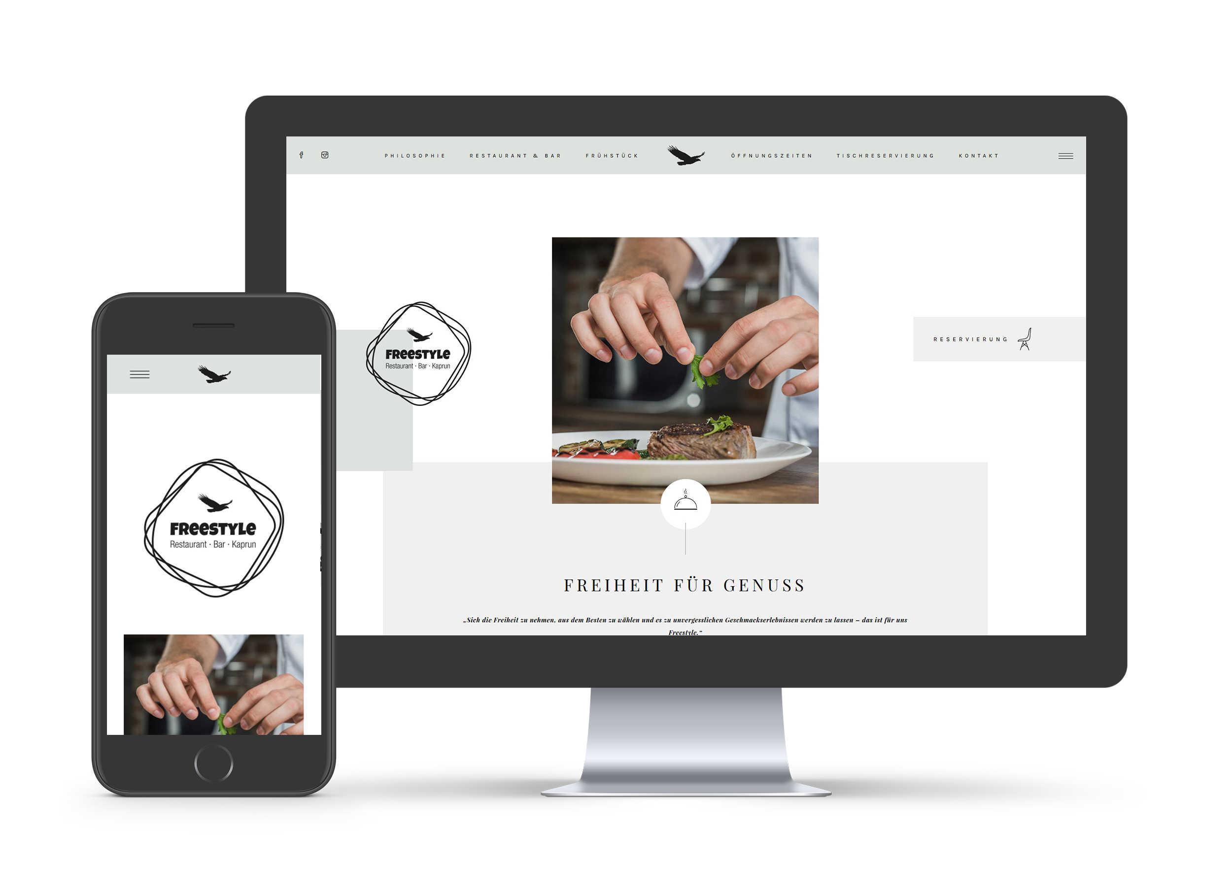 Freestyle Restaurant · Bar · Kaprun - Website