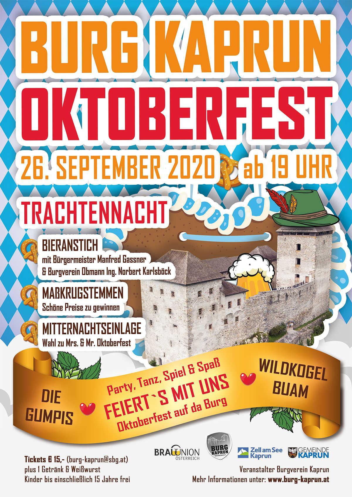 Burg Kaprun - Oktoberfest 2020