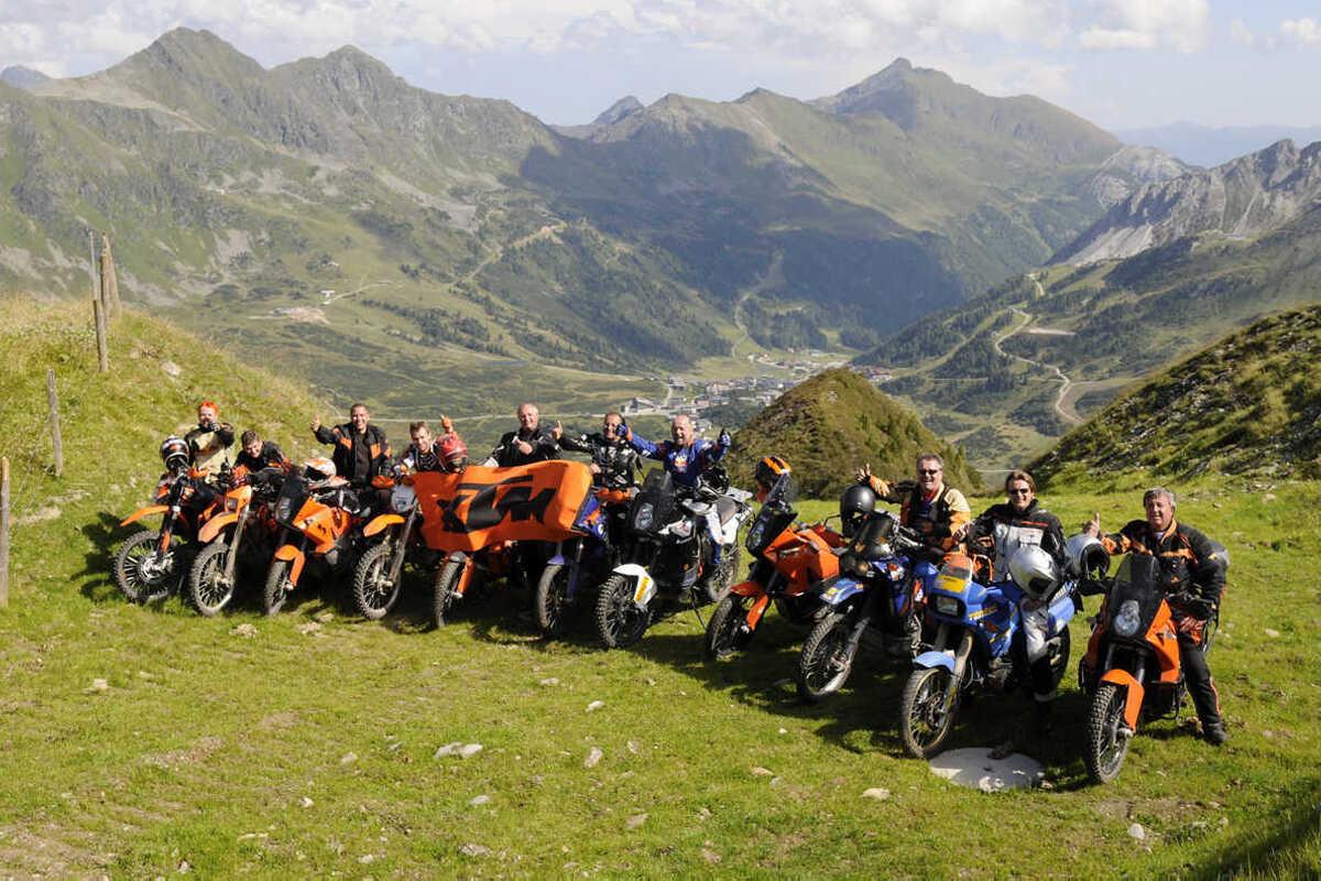 Orangemountain Adventurbiketreffen