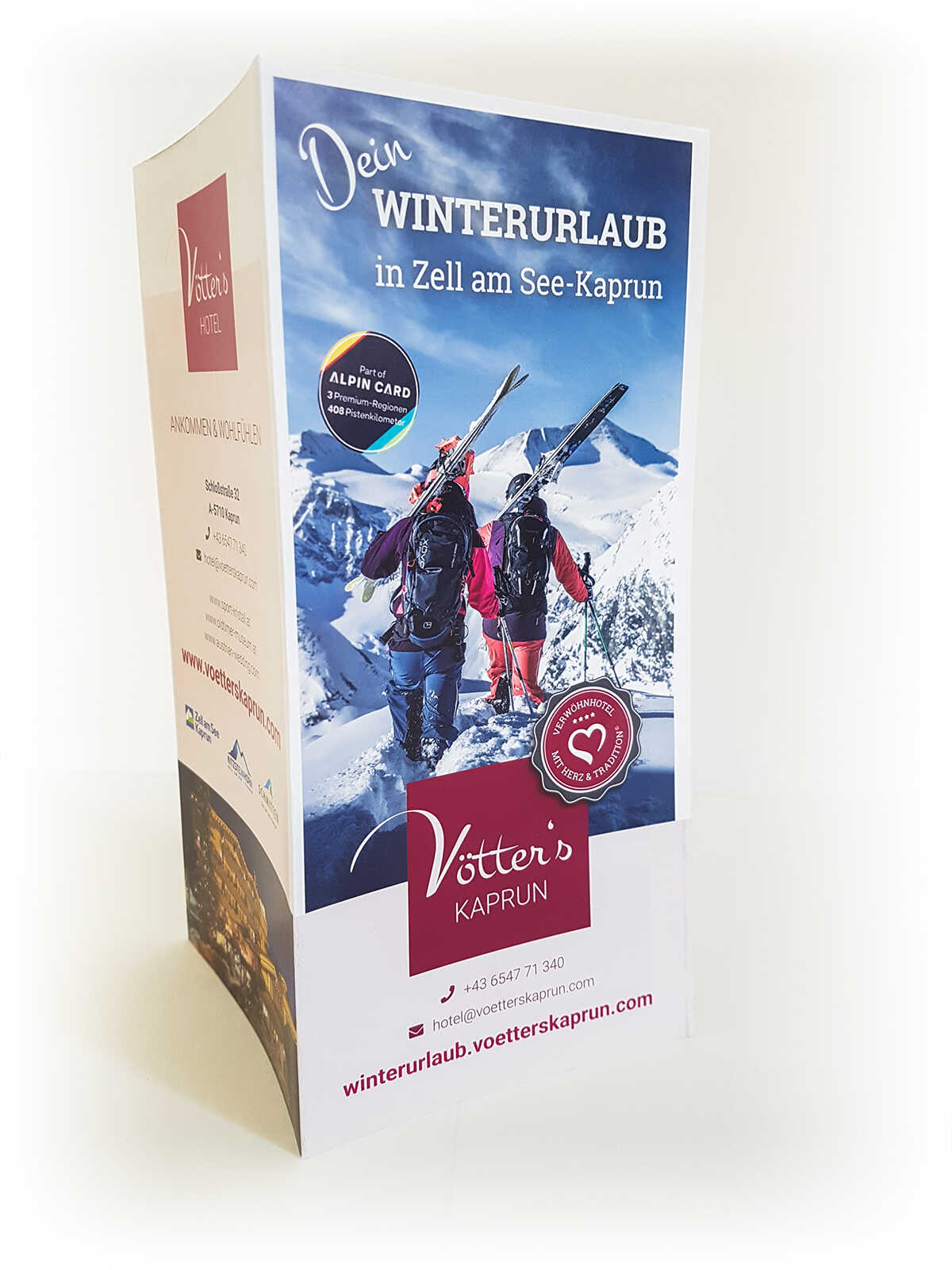 Vötter's Kaprun - Folder Winter