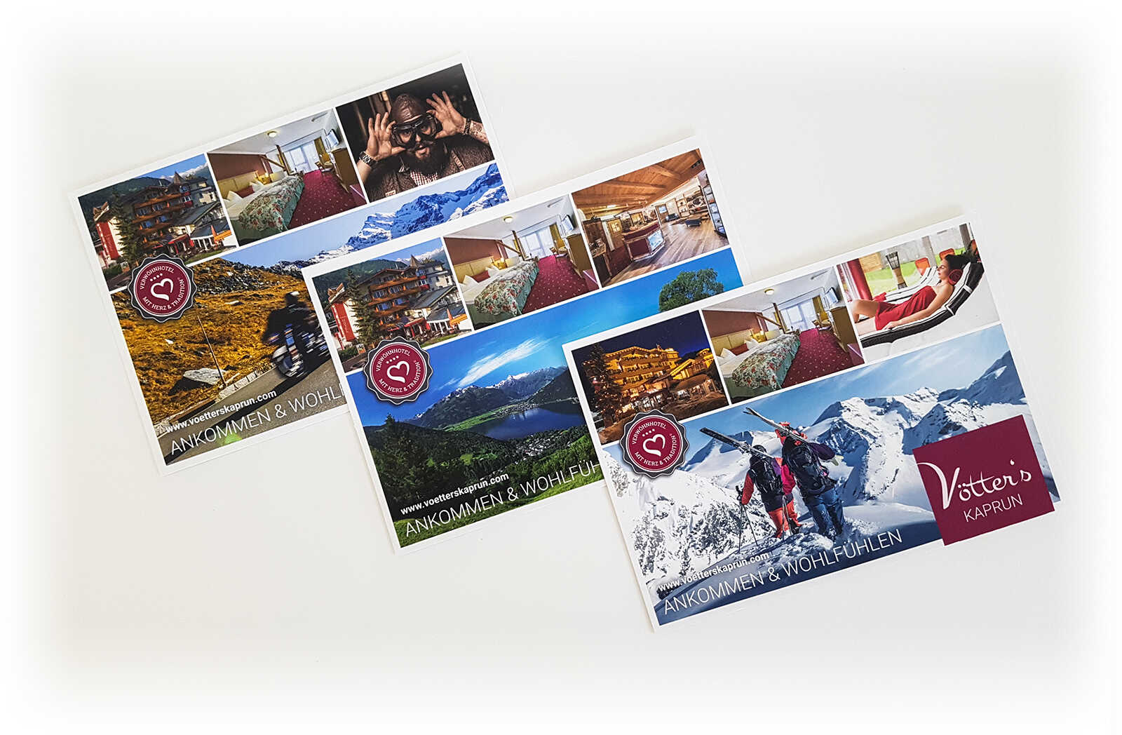 Vötter's Kaprun - Postkarte