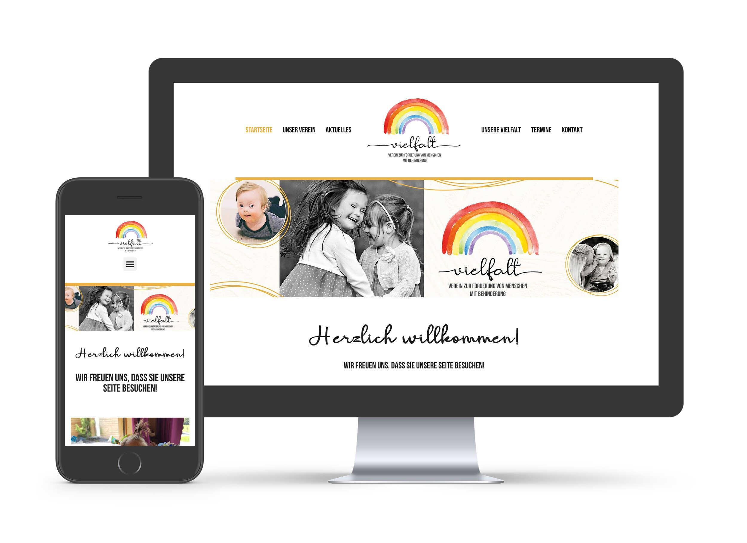 Verein Vielfalt - Website