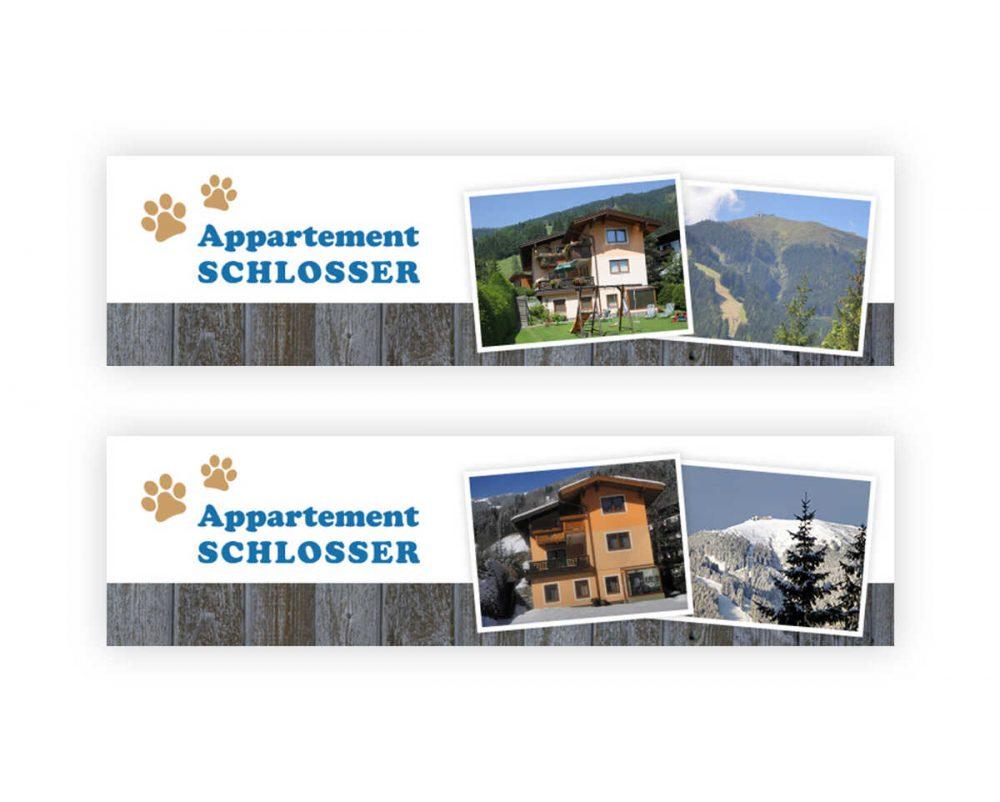 Appartement Schlosser - E-Mail Signatur